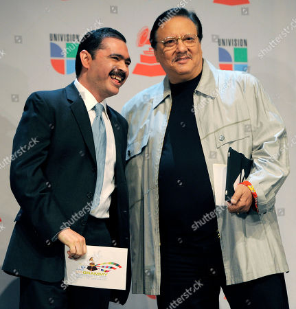 Mario Quintero Lara, Arturo Sandoval Mexican band leader Mario Quintero Lara, left, and Cuban jazz musician Arturo Sandoval pose together before announcing nominations for the 11th Annual Latin Grammy Awards in Los Angeles, . The show will be held on Nov. 11 in Las Vegas