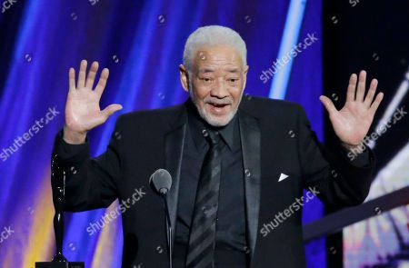 Bill Withers Bill Withers speaks at the Rock and Roll Hall of Fame Induction Ceremony, in Cleveland