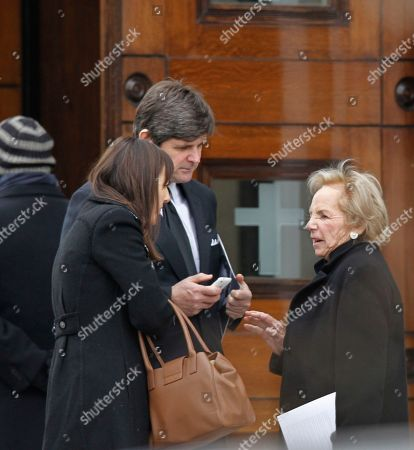 William Kennedy Smith, Ethel Kennedy William Kennedy Smith, left, speaks with Ethel Kennedy, widow of the late Robert F. Kennedy, as they and other mourners leave following the funeral Mass for R. Sargent Shriver at Our Lady of Mercy Catholic church in Potomac, Md., just outside Washington, . Shriver, the man responsible for launching the Peace Corps after marrying into the Kennedy family, died last Tuesday at age 95 after suffering from Alzheimer's disease for years