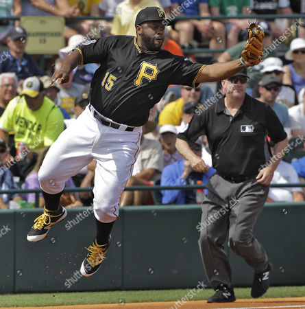 Jason Rogers Pittsburgh Pirates third baseman Jason Rogers makes a leaping stop on a ground ball by Tampa Bay Rays' Richie Shaffer during the second inning of a spring training baseball game, in Bradenton, Fla. Rogers forced Rays' Brad Miller at third and relayed the throw to first to get Shaffer for a double play
