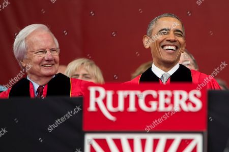 Editorial image of Rutgers Commencement Fee, Piscataway, USA