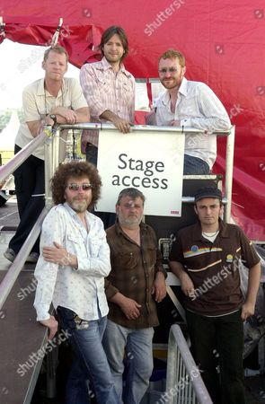 The Storys- top l-r: Brian Thomas, Steve Balsamo, Dai Smith. Front l-r: Andy Collins, Alan Thomas, Rob Thompson