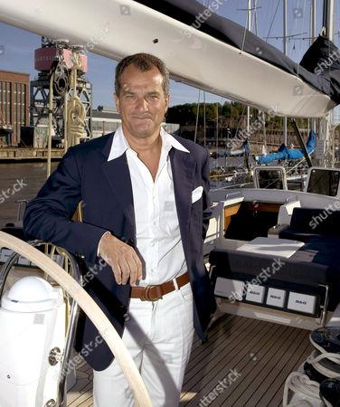 Chief executive of Ferragamo group Leonardo Ferragamo, owner of the finnish company Nautor that builds Swan Yachts