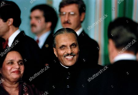 Editorial picture of Zia-ul-Haq In New York, New York, USA