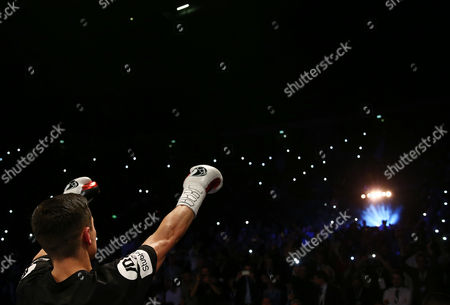 Anthony Crolla ahead of the WBA, WBC Diamond and Ring Magazine Lightweight World Titles fight with Jorge Linares at the Two Worlds Collide fight night at the MEN Arena, Manchester on 24th September 2016