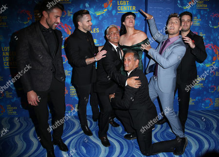 Greg Louganis, Johnny Chaillot, Lance Bass, Michael Turchin, Robert Sepulveda Jr., Brian Justin Crum, Pauley Perrette