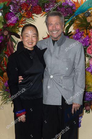 Karen Park Goude and Jean-Paul Goude
