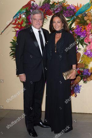 Sidney Toledano and Katia Toledano