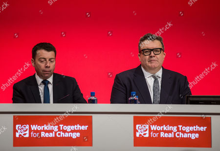 Iain McNicol, General Secretary of the Labour Party and Tom Watson, Deputy Leader of the Labour Party
