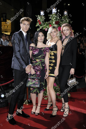 Stock Image of The Atomics Lucky Blue Smith, Daisy Clementine, Cheyenne Smith, Pyper America Smith