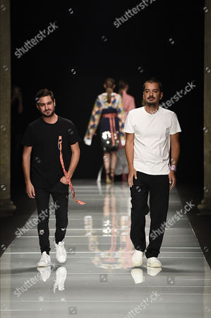 Editorial photo of Au Jour Le Jour show, Runway, Spring Summer 2017, Milan Fashion Week, Italy - 24 Sep 2016