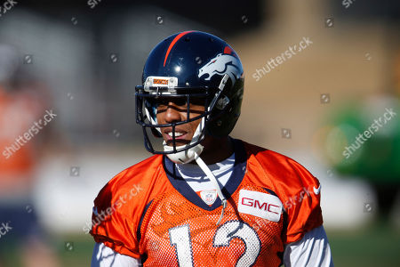 Andre Caldwell Denver Broncos wide receiver Andre Caldwell looks on during an NFL football practice at the team's headquarters, in Englewood, Colo. The Broncos host the New England Patriots in the AFC Championship game in Denver on Sunday