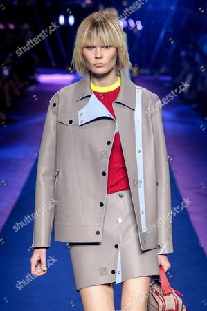 Stock Picture of Alexandra Elizabeth on the catwalk