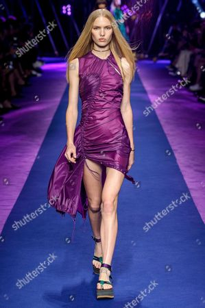 Stock Picture of Jess PW on the catwalk