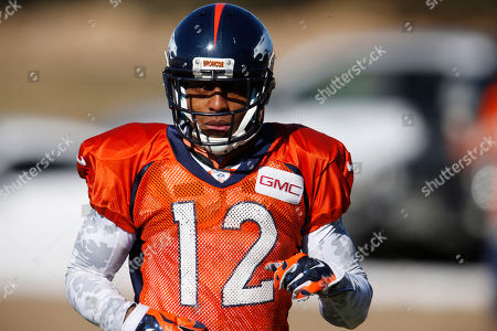 Andre Caldwell Denver Broncos wide receiver Andre Caldwell takes part in drills during an NFL football practice, in Englewood, Colo. The Broncos are preparing for their divisional round AFC playoff game against the Pittsburgh Steelers Sunday in Denver