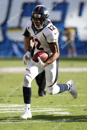 Andre Caldwell Denver Broncos wide receiver Andre Caldwell #12 during an NFL game between the Denver Broncos and the San Diego Chargers played at Qualcomm Stadium on