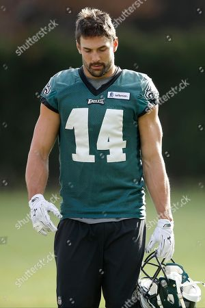 Riley Cooper Philadelphia Eagles' Riley Cooper walks off the field at the NFL football team's practice facility, in Philadelphia