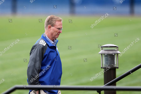 Stock Picture of John Mara New York Giants co-owner John Mara walks from the field after watching an NFL football minicamp, in East Rutherford, N.J