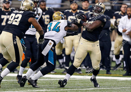 Bobby Richardson New Orleans Saints defensive end Bobby Richardson (78) intercepts a pass intended for Jacksonville Jaguars running back Jonas Gray (34) in the first half of an NFL football game in New Orleans