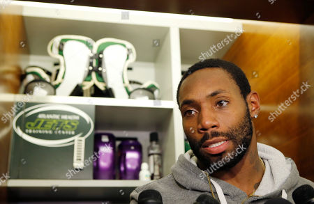 Antonio Cromartie New York Jets cornerback Antonio Cromartie speaks to reporters in front of his locker at the team's NFL football training facility in Florham Park, N.J. The New York Jets have released cornerback Antonio Cromartie, a cost-cutting move that will save the team $8 million in salary cap space. The decision, marks the second time in three years that the Jets have cut Cromartie, who was re-signed last offseason after a year in Arizona