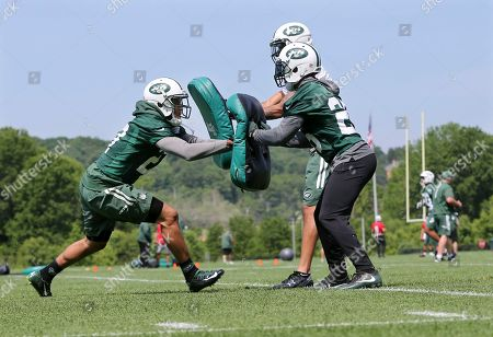 Editorial photo of Jets Practice Football, Florham Park, USA