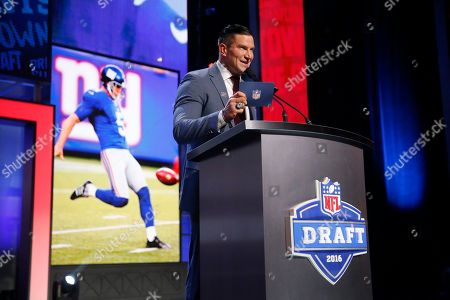 Editorial image of NFL Draft Football, Chicago, USA