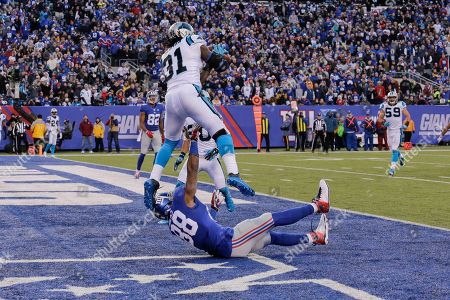 Editorial image of Panthers Giants Football, East Rutherford, USA