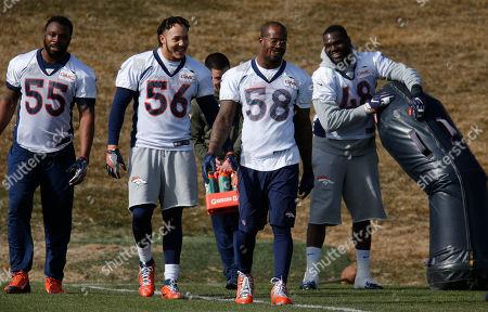 Editorial photo of Super Bowl Broncos Football, Englewood, USA