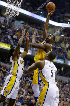 Stock Picture of Lavoy Allen, Solomon Hill, Festus Ezeli Before an NFL football game in Minneapolis
