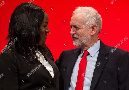 Kate Osamor, Shadow Secretary of State for International Development and Jeremy Corbyn