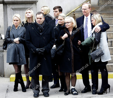 John Mara New York Giants co-owner John Mara, second from right, watches with other members of his family as the casket of his mother Ann Mara is placed in the hearse after her funeral Mass at the Church of St. Ignatius Loyola, in New York. Mara, the matriarch of the NFL's New York Giants for the past 60 years, died Sunday, Feb. 1, 2015