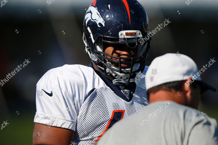 Ryan Harris Denver Broncos tackle Ryan Harris (68) during the morning session at the team's NFL football training camp, in Englewood, Colo