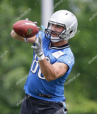 Editorial picture of Lions Minicamp Fotoball, Allen Park, USA