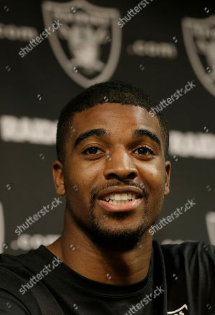 Josh Harper Oakland Raiders wide receiver Josh Harper speaks to reporters during a rookie minicamp at an NFL football facility in Alameda, Calif