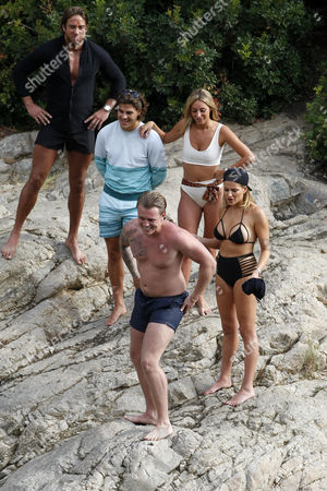 James Lock, Amber Dowding, Chris Clarke, Georgia Kousoulou and Tommy Fordham