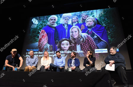 Stock Image of Simon Farnaby, Ben Willabond, Martha Howe-Douglas,, Laurence Rickard and Jim Howick and Mathew Baynton