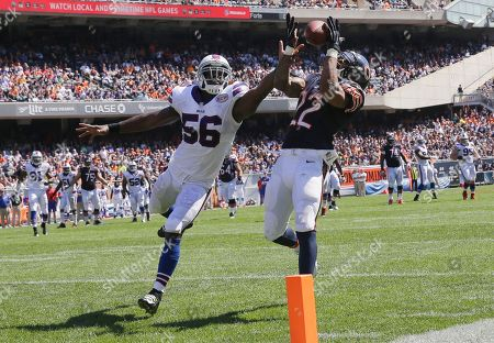 Editorial picture of Bills Bears Football, Chicago, USA