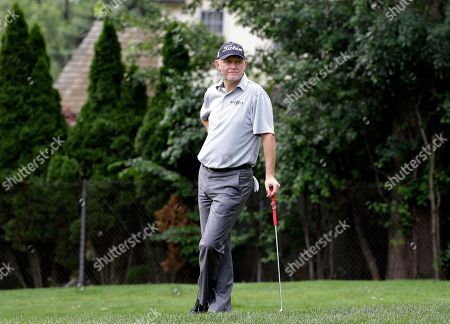 Roger Chapman Roger Chapman looks to the eighth green during the first round of the Encompass Championship golf tournament in Glenview, Ill