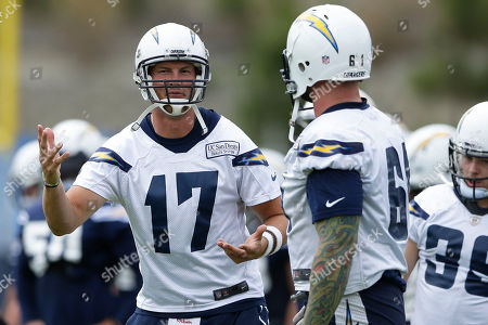 Editorial picture of Chargers Camp Football, San Diego, USA