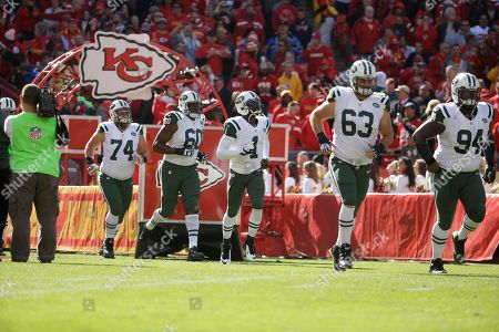 Editorial image of Jets Chiefs Football, Kansas City, USA
