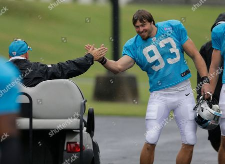 Editorial picture of Panthers Camp Football, Spartanburg, USA