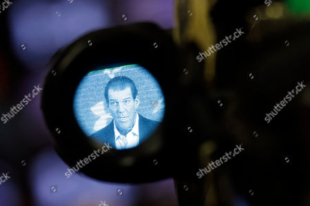 Steve Bisciotti Baltimore Ravens owner Steve Bisciotti is seen through a television camera's viewfinder as he addresses the controversy surrounding former running back Ray Rice at an NFL football news conference, in Owings Mills, Md
