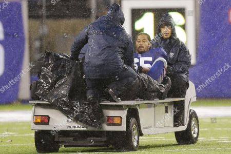 Will Beatty New York Giants' Will Beatty (65) is carted off the field during the second half of an NFL football game against the Washington Redskins, in East Rutherford, N.J