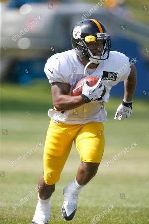 Jordan Hall Pittsburgh Steelers running back Jordan Hall (49) during NFL football training camp in Latrobe, Pa., on