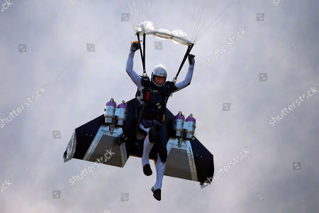 Editorial image of Icare Paragliding, Saint Hilaire du Touvet, France - 25 Sep 2016