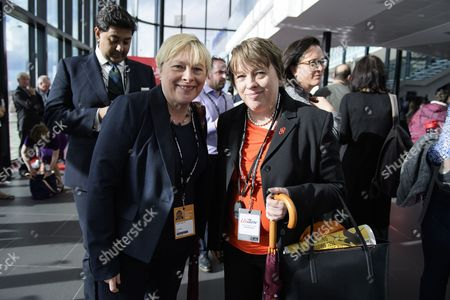 Angela Eagle and Maria Eagle MP attend day one of the Labour Party Annual Conference