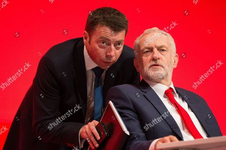 Iain McNicol and Jeremy Corbyn