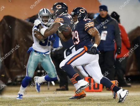Michael Bush Chicago Bears running back Michael Bush (29) makes a touchdown run during the second half of an NFL football game against the Dallas Cowboys, in Chicago. The Bears won 45-28