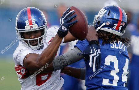 Editorial image of Giants Camp Football, East Rutherford, USA