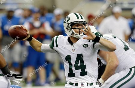 Editorial photo of Jets Lions Football, Detroit, USA